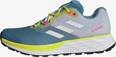 adidas Terrex Lage schoen 'Two Flow' in de kleur Smoky blue / Neongeel / Grijs / Pink / Wit, Productweergave