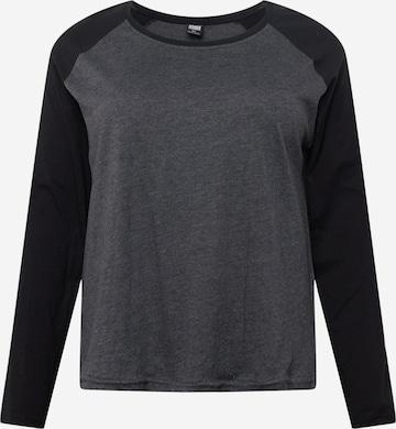 Urban Classics Curvy Skjorte i grå