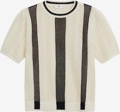 MANGO Pullover in schwarz / weiß, Produktansicht