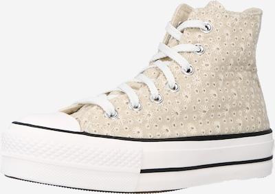 CONVERSE Baskets hautes 'CHUCK TAYLOR ALL STAR LIFT  HI' en beige / beige clair, Vue avec produit