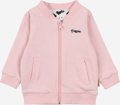 VINGINO Veste de survêtement 'Olina' en bleu foncé / rose, Vue avec produit