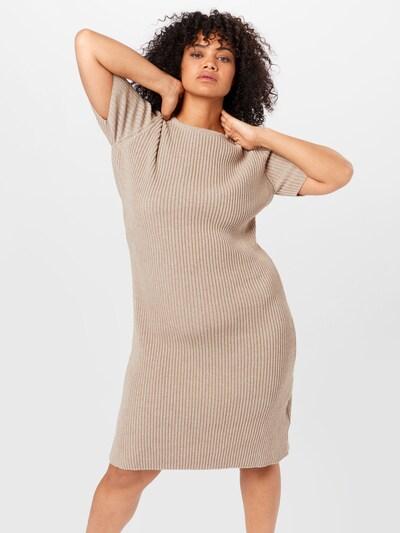 bézs NU-IN Plus Kötött ruhák, Modell nézet