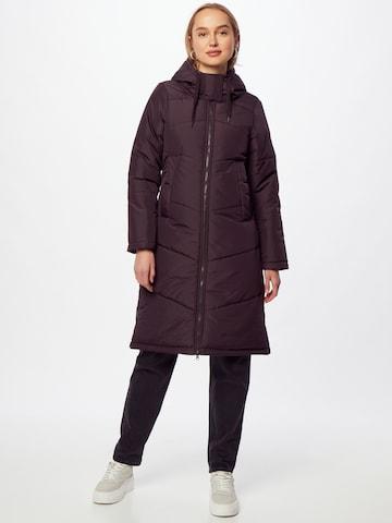 Cappotto invernale 'Paddie' di Iriedaily in lilla