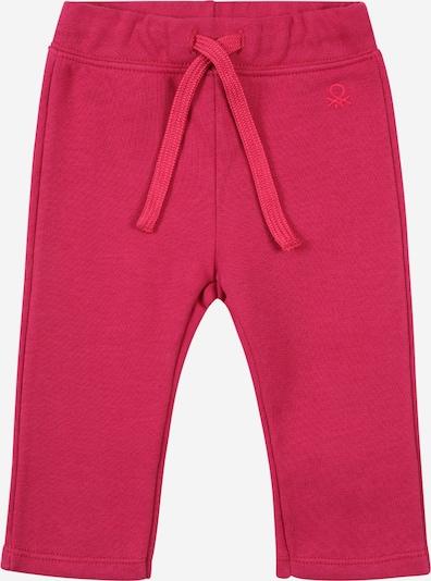Pantaloni UNITED COLORS OF BENETTON pe roz pitaya, Vizualizare produs