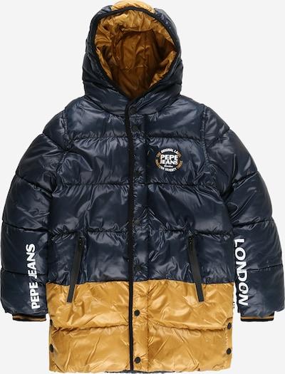 Pepe Jeans Between-Season Jacket 'FAXON' in Dark blue / Honey / White, Item view