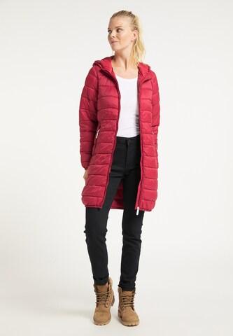 ICEBOUND Winter Coat in Red