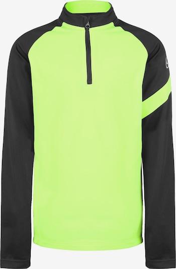 NIKE Functioneel shirt 'Dry Academy Pro' in de kleur Neongeel / Zwart, Productweergave