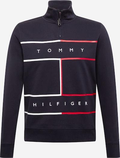 TOMMY HILFIGER Sweatshirt in Dark blue / Red / White, Item view