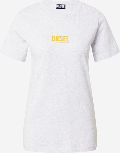 DIESEL Shirt 'SILY' in Yellow / Light grey, Item view