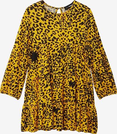 Desigual Robe 'Laura' en jaune / noir, Vue avec produit