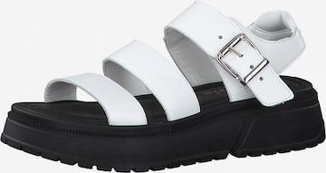 TAMARIS Strap Sandals in White