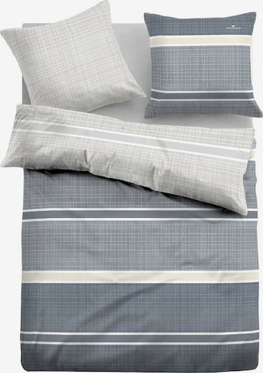 TOM TAILOR Bettbezug in grau / weiß, Produktansicht