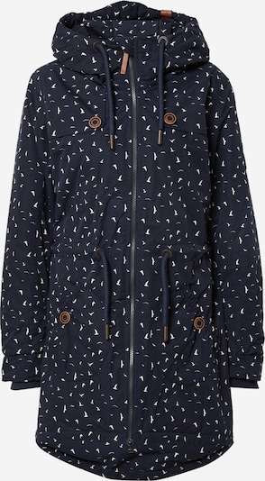 Alife and Kickin Between-Seasons Parka 'Charlotte' in Night blue / White, Item view