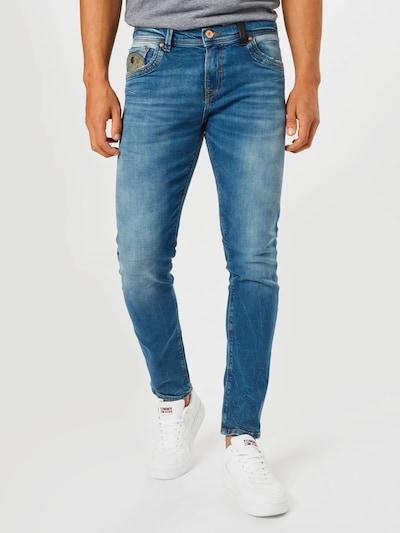 Jeans 'HERMAN' LTB pe albastru denim / kaki, Vizualizare model