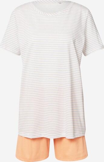 CALIDA Kratke hlače za spavanje u svijetloplava / narančasta / bijela, Pregled proizvoda