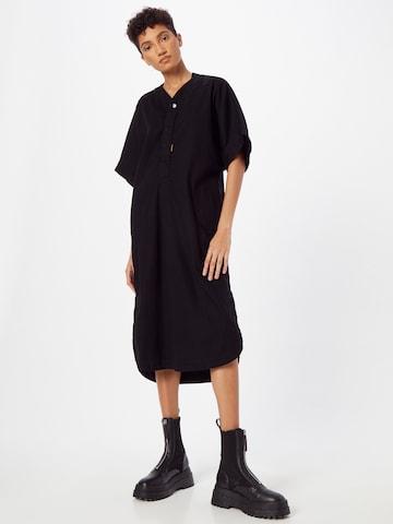 G-Star RAW Shirt Dress in Black