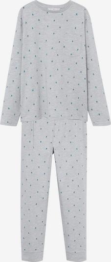 MANGO KIDS Pyjama 'Jack' in blau / graumeliert, Produktansicht