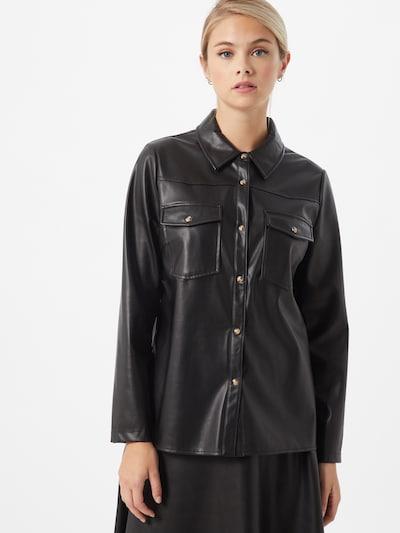 Rich & Royal Bluse in schwarz, Modelansicht