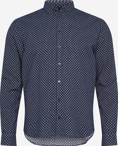 Camicia 'Anton' Casual Friday di colore blu scuro / bianco, Visualizzazione prodotti
