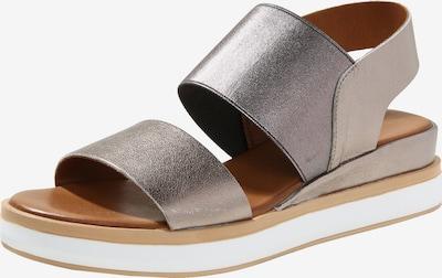 INUOVO Sandale in silber, Produktansicht