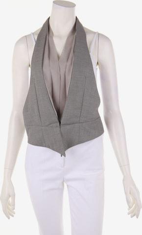 Silvian Heach Vest in M in Grey