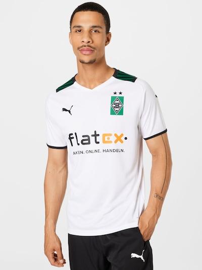 PUMA Trikot 'Borussia Mönchengladbach' in grün / orange / schwarz / weiß: Frontalansicht