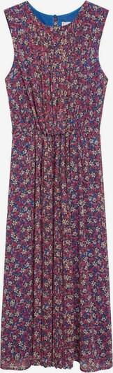 MANGO Рокля 'Mina' в синьо / жълто / розово, Преглед на продукта