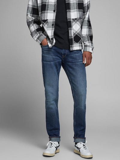JACK & JONES Jeans 'JJIGLENN' in Dark blue, View model