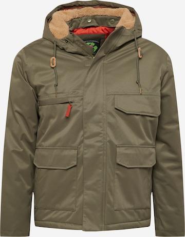 Derbe Between-Season Jacket 'Cottholm' in Green