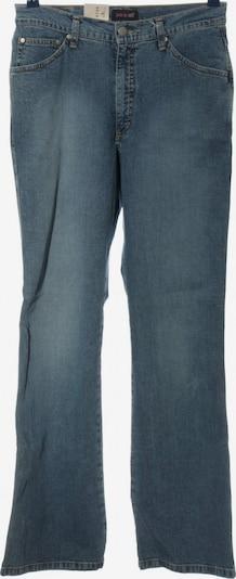 H.I.S Jeansschlaghose in 30-31 in blau, Produktansicht