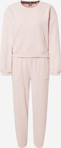 Tuta da jogging di PUMA in rosa