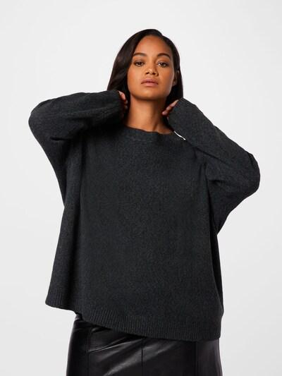 Zizzi Pullover 'SUNNY' in schwarz, Modelansicht