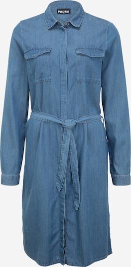 Pieces Tall Shirt dress 'NISA' in Blue denim, Item view