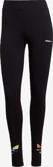 ADIDAS ORIGINALS Leggings in pastellgelb / pastellorange / rosé / schwarz / weiß, Produktansicht