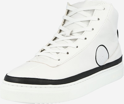 Komrads Baskets hautes 'APL' en noir / blanc, Vue avec produit