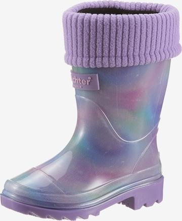 Richter Schuhe Gummistiefel in Lila