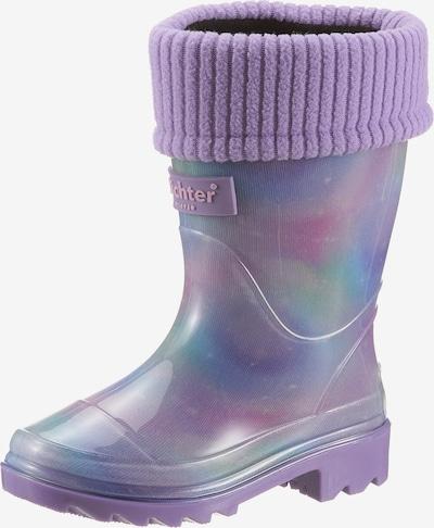 Richter Schuhe Gummistiefel in flieder / mischfarben, Produktansicht