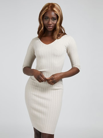 GUESS Knitted dress in Beige