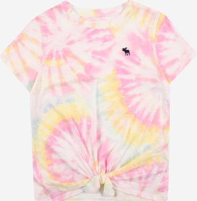 Abercrombie & Fitch Shirt in hellblau / limone / fuchsia / weiß, Produktansicht