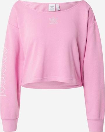 ADIDAS ORIGINALS Sweatshirt in Pink
