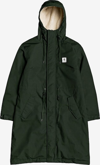 ELEMENT Mantel in dunkelgrün, Produktansicht