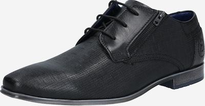 bugatti Zapatos con cordón en negro, Vista del producto