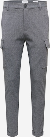 Lindbergh Cargo Pants 'Superflex' in Grey