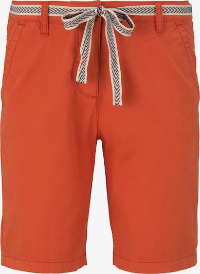TOM TAILOR Chino Shorts in orange, Produktansicht