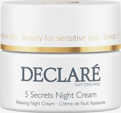 Declaré Nachtcreme 'Stress Balance 5 Secrets' in creme, Produktansicht
