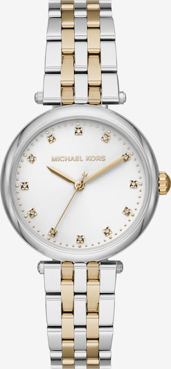 Michael Kors Montre à affichage analogique en argent, Vue avec produit
