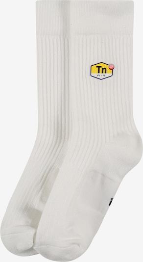 Nike Sportswear Къси чорапи в жълто / светлочервено / черно / бяло, Преглед на продукта