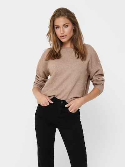 ONLY Pullover in hellbraun, Modelansicht