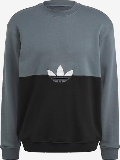 ADIDAS ORIGINALS Sweatshirt in grau / schwarz / weiß, Produktansicht
