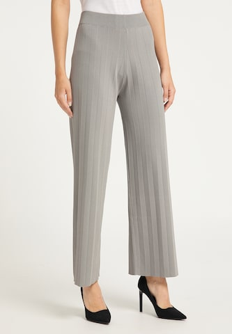 usha BLACK LABEL Παντελόνι σε γκρι
